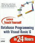 Sams Teach Yourself Database Prog....