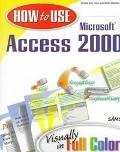 How to Use Microsoft Access 2000