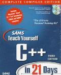Sams Teach Yourself C++ in 21..-w/2 Cds