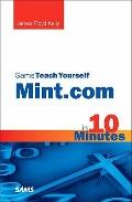 Sams Teach Yourself Mint. com in 10 Minutes
