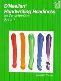 D'Nealian Handwriting Readiness for Preschoolers Book 1