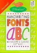 D'Nealian Handwriting Fonts; Manuscript and Cursive Software (MAC) - Donald Neal Thurber - M...