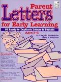 Parent Letters for Early Learning
