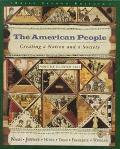 American People Creating a Nation and a Society from 1865