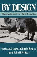 By Design Planning Research on Higher Education
