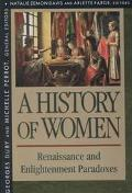 History of Women in the West Renaissance and Enlightenment Paradoxes