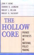 Hollow Core Private Interests in National Policy Making