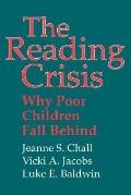 Reading Crisis Why Poor Children Fall Behind