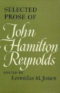 Selected Prose of John Hamilton Reynolds