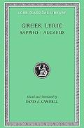 Greek Lyric Sappho Alcaeus