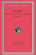 Varro on the Latin Language/Books V-Vii/Lcl 333