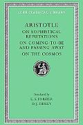 Aristotle on Sophistical Refutations on Coming-To-Be and Passing-Away on the Cosmos