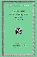 Josephus Jewish Antiquities, Book XX General Index X