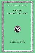 Greek Iambic Poetry From the Seventh to Fifth Centuries Bc