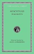 Aeschylus, III, Fragments, Vol. 3