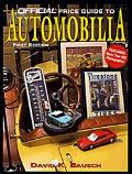 Official Price Guide to Automobilia