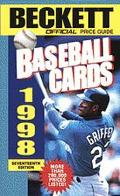 The Beckett Official Price Guide to Baseball Cards