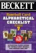 Beckett Baseball Card Alphabetical Checklist