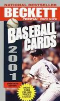 Official Price Guide to Baseball Cards 2001 - James Beckett - Mass Market Paperback - 20TH