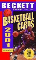 Offical Price Guide to Basketball Cards 2001 - James Beckett - Mass Market Paperback - 10TH
