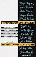 Bearing Witness: African-American Autobiography