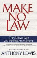 Make No Law The Sullivan Case and the First Amendment