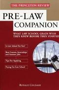 Princeton Review: Prelaw School Companion
