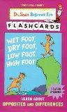 Wet Foot Dry Foot (Beginner Flash Cards, Preschool - Grade 1)