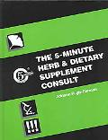 5-Minute Herb and Dietary Supplement Consult