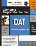 Complete Preparation for the OAT, 1999: Optometry Admission Test