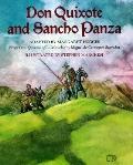 Don Quixote & Sancho Panza (AKA Don Quixote) - Miguel de Cervantes Saavedra - Hardcover - Ab...