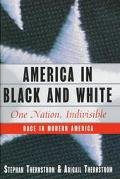 America in Black and White One Nation, Indivisible