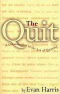 Quit - Evan Harris - Paperback
