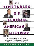 Timetables of African-American History A Chronology of the Most Important People and Events ...