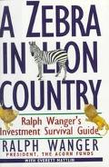 Zebra in Lion Country