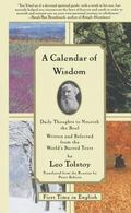 Calendar of Wisdom Daily Thoughts to Nourish the Soul Written and Selected from the World's ...