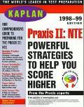 Kaplan PRAXIS II: NTE 1998-99 with Audio CD