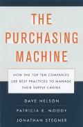 Purchasing Machine How the Top Ten Companies Use Best Practices to Manage Their Supply Chains