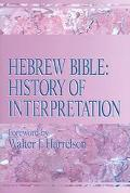 Hebrew Bible History Of Interpretation