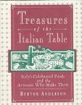 Treasures of the Italian Table - Burton Anderson - Hardcover - 1st ed