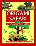 Origami Safari: Includes 2 Dozen Sheets of Origami Paper - Steve Biddle - Paperback
