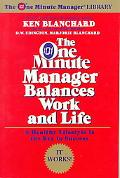One Minute Manager Balances Work and Life