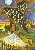 Who Said Boo?: Halloween Poems for the Very Young - Nancy White White Carlstrom
