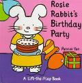 Rosie Rabbit's Birthday Party-Lift-the-Flap - Patrick Yee - Hardcover - LIFTFLAP