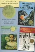 Collection of 3 Newbery Medal Winners M.C. Higgins the Great, Mrs. Frisby and the Rats of Ni...