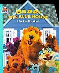 Bear's Big Blue House: A Book of First Words - Janelle Cherrington - Board Book - BOARD