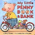 My Little Penny Book and Bank - Betty Schwartz - Hardcover - BOARD