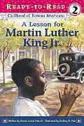 Lesson for Martin Luther King Jr.