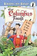 What Columbus Found It Was Orange, It Was Round