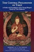 Central Philosophy of Tibet A Study and Translation of Jey Tsong Khapa's